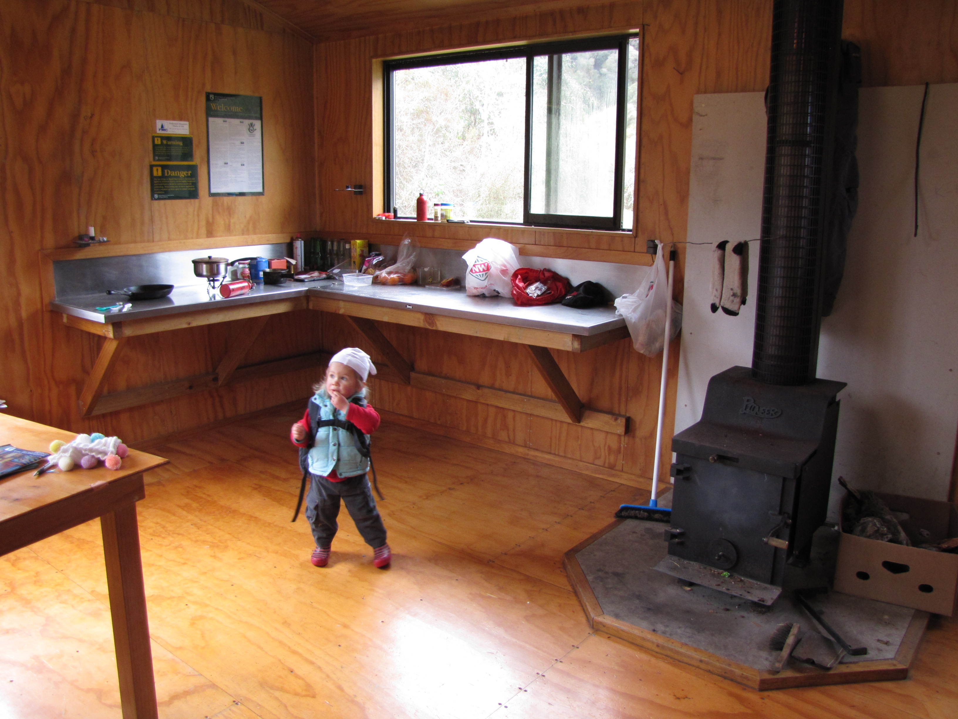 Dillon Hut In The Taipo Valley Is An Absolute Gem For Kids, As Far As Weu0027re  Concerned. Warm, Sandfly Proof, So Clean You Wonu0027t Worry About Your Toddler  ...