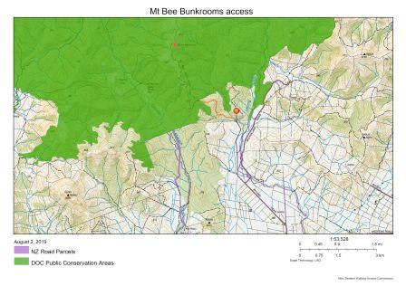 Mt Bee Bunkroom access